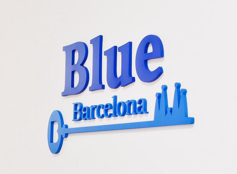 Blue Barcelona - Pilar Poyatos