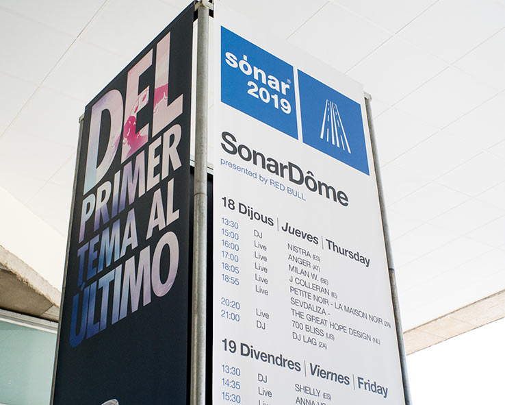 Sónar Festival 2015-2019 - Pilar Poyatos